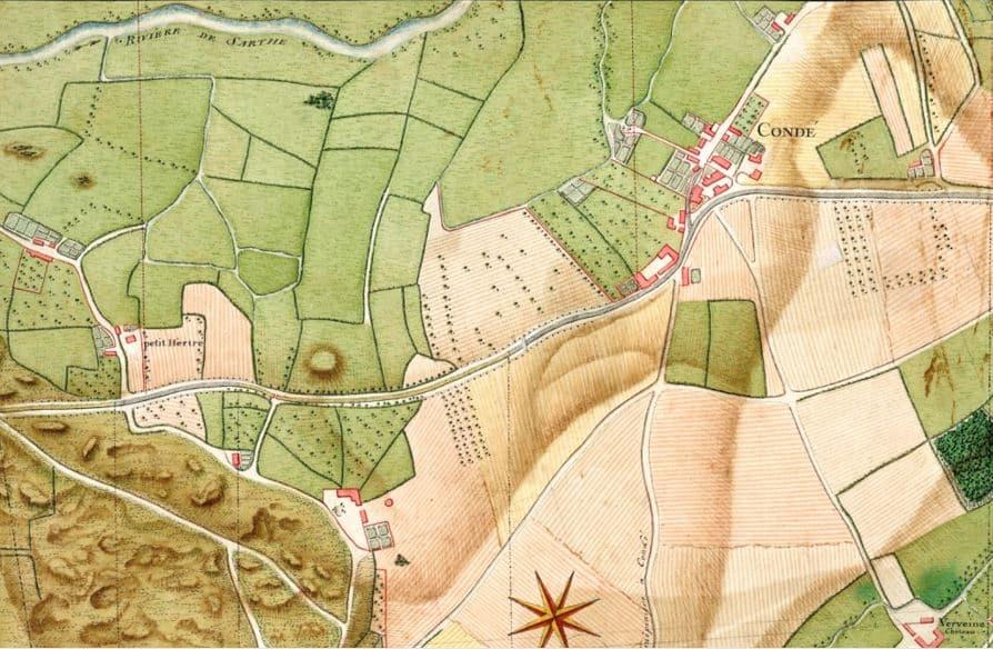 L'histoire de Condé-sur-Sarthe