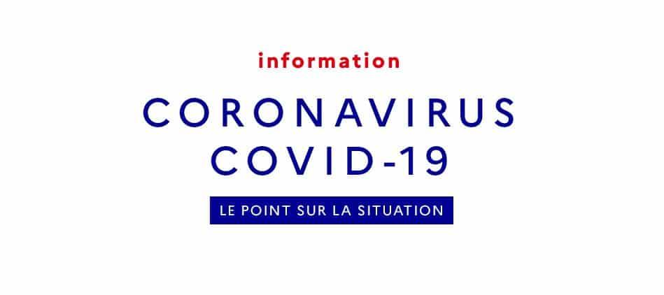 Coronavirus COVID-19 : informations, recommandations et mesures sanitaires