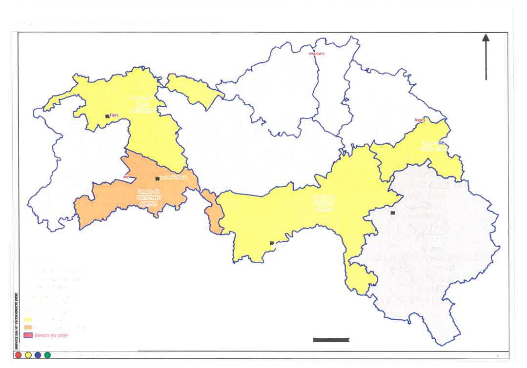 Mesures de restriction temporaire des usages de l'eau