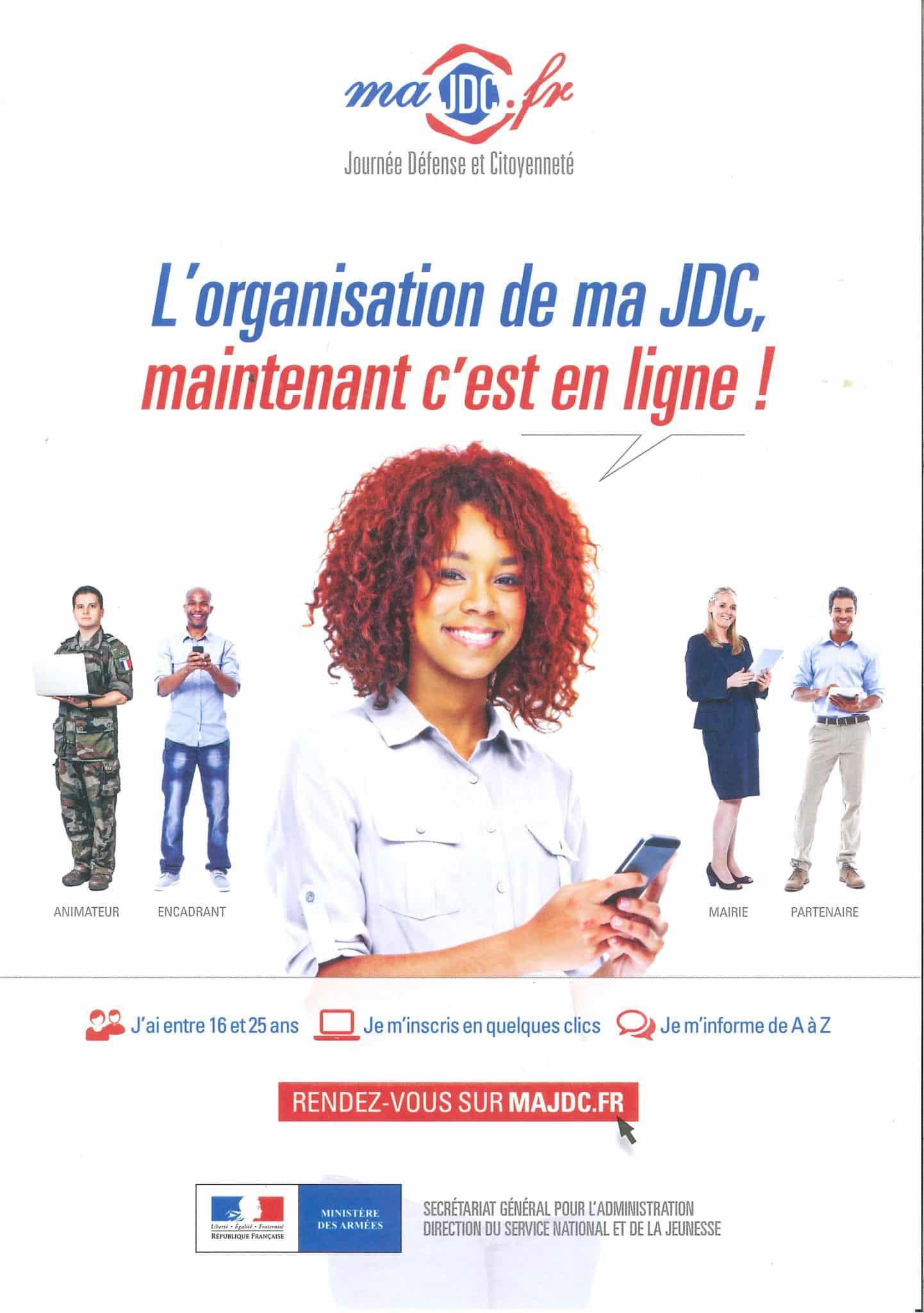 Journée défense et citoyenneté – JDC