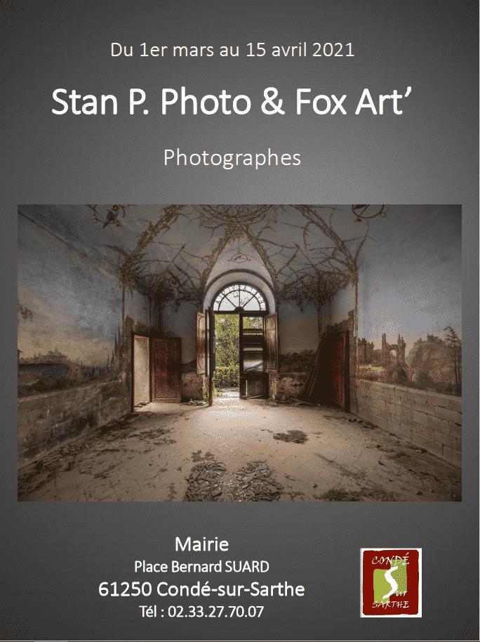 MAJ Galerie citoyenne – exposition Stan P. Photo & Fox Art'