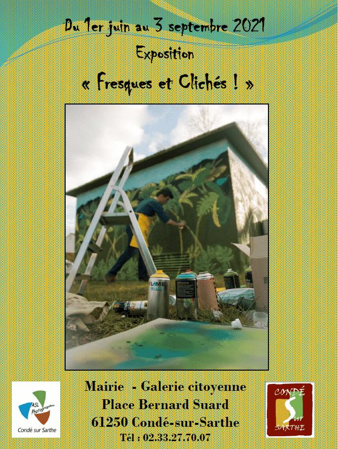 Galerie citoyenne – exposition «Fresques et Clichés»